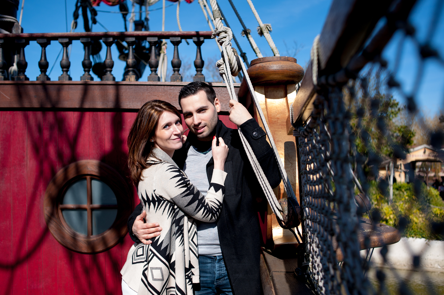shooting photo engagement disneyland