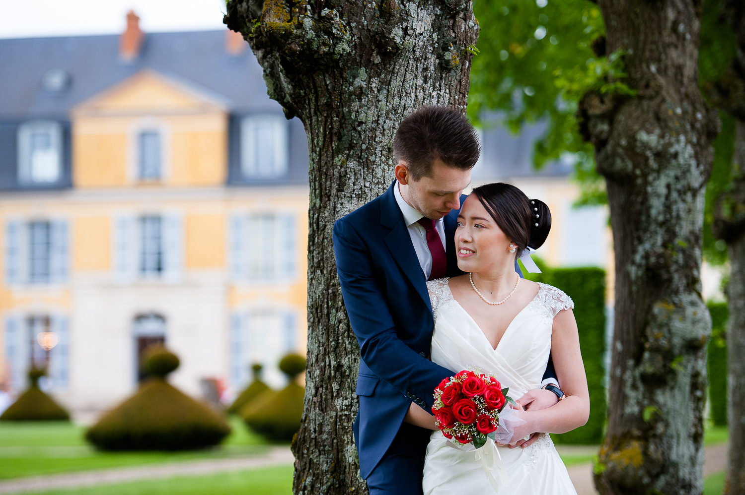 photos mariage chateau dommerville