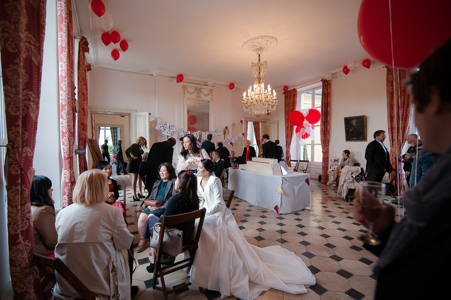 mariage chateau dommerville