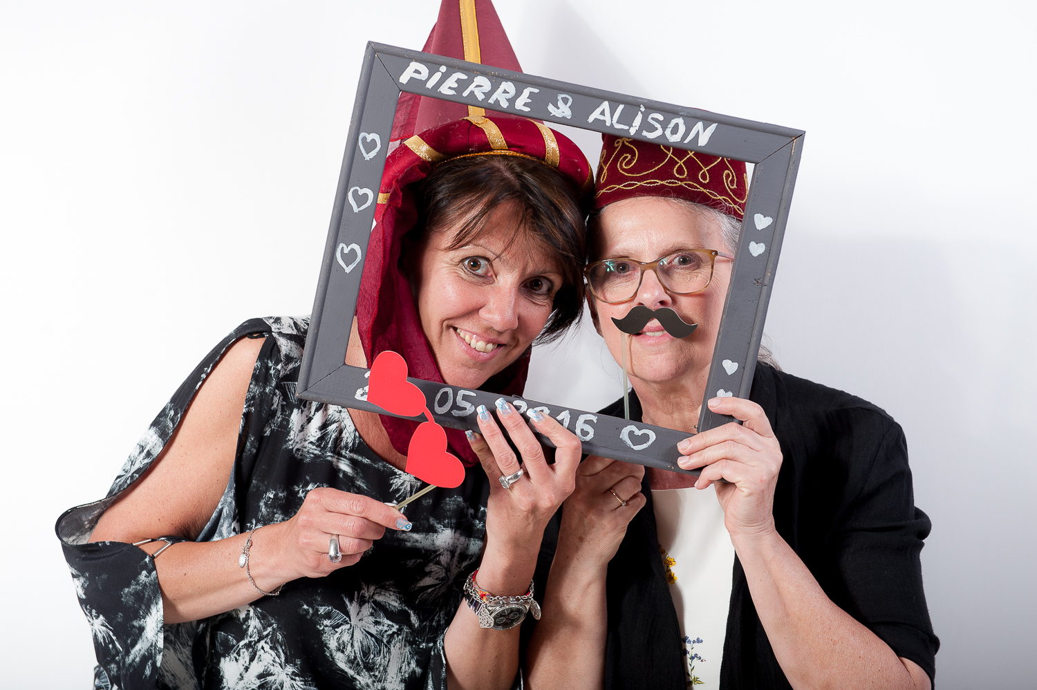 photographe mariage studio photobooth