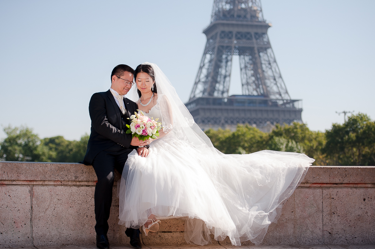 photos de mariage à paris