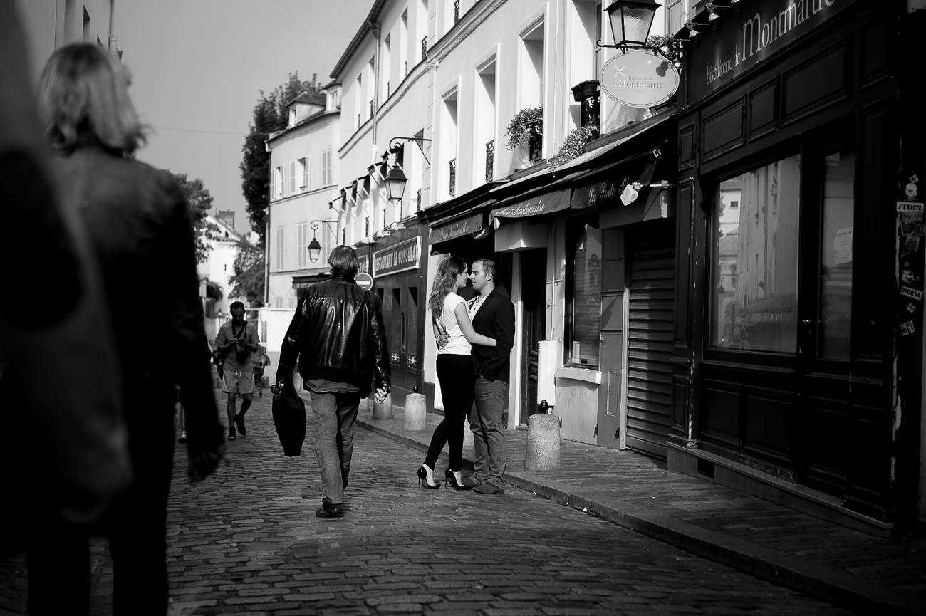 shooting photo  paris montmartre