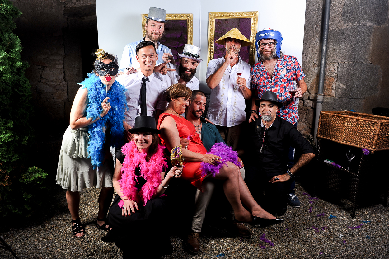 animation studio photobooth mariage