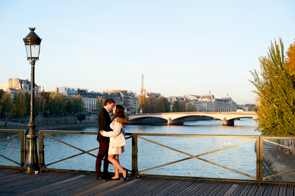 Shooting photo d'engagement à Paris