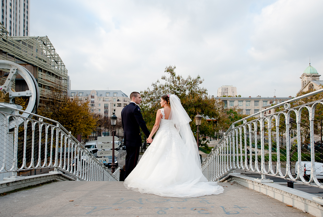 photos de couple mariage paris
