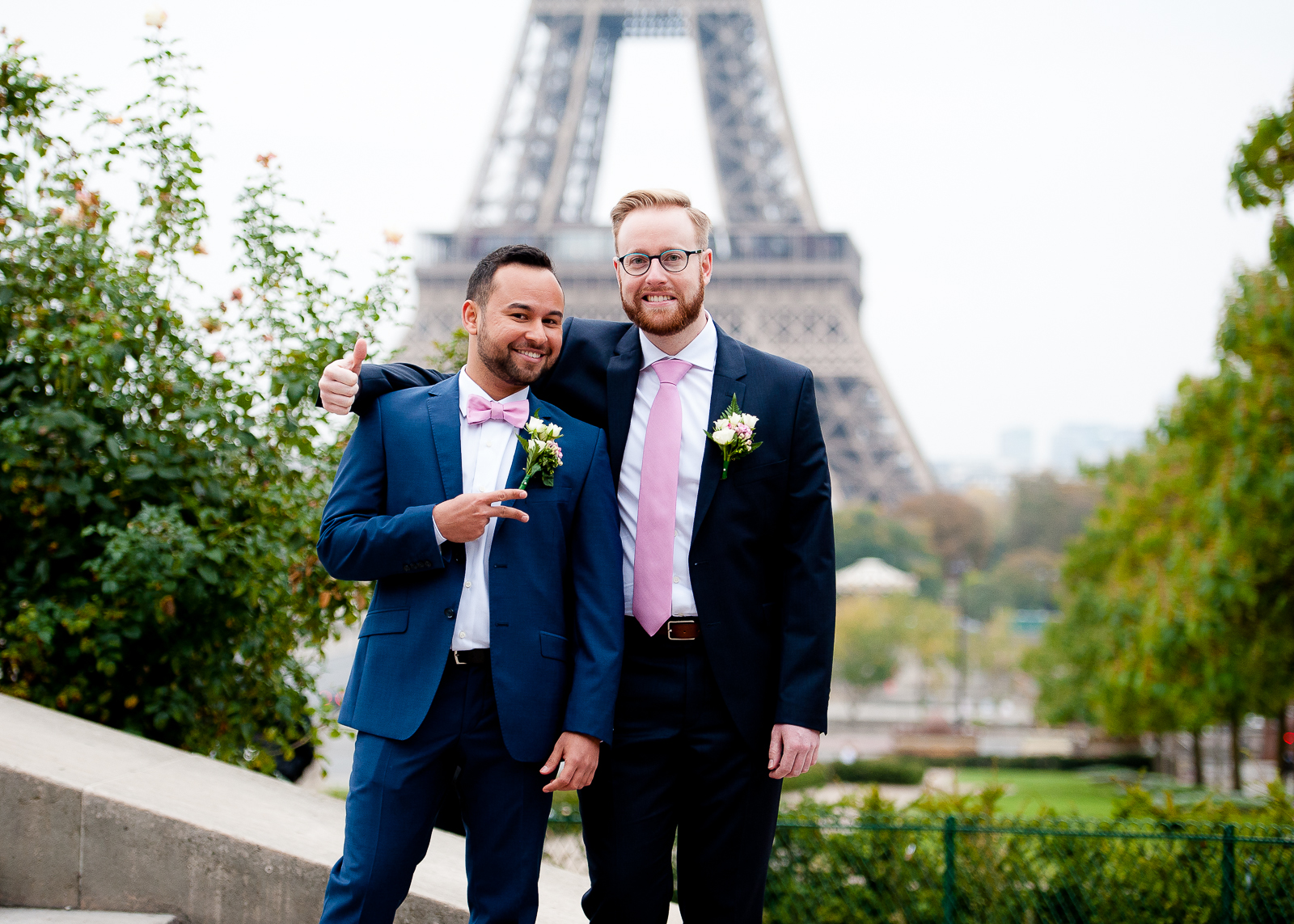 photographe de mariage gay paris