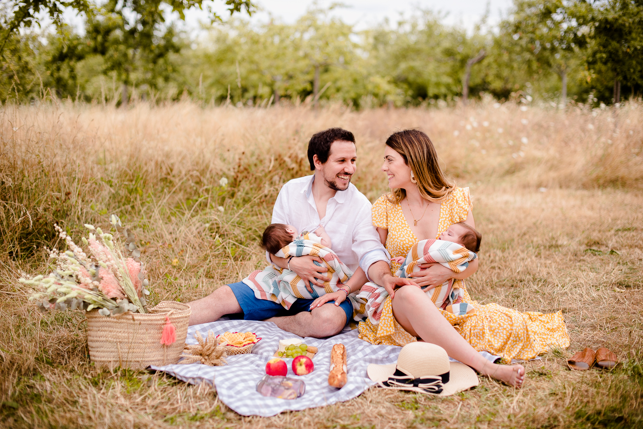 shooting photo picnic de famille ile de France